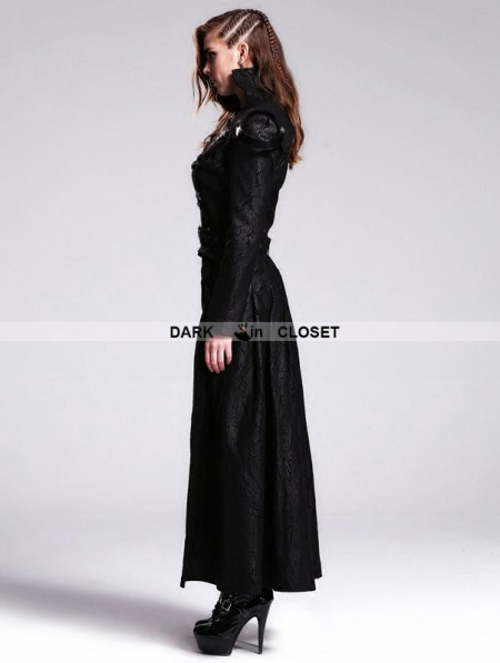 Devil Fashion Black Gothic Punk Detachable Short And Long
