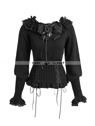 Punk Rave Black Gothic Lolita Sweater