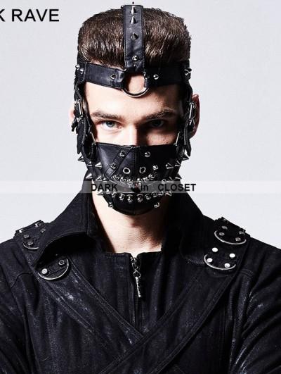 Punk Rave Rivet Mask