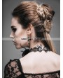 Devil Fashion Black Rose Romantic Gothic Necklace for Women