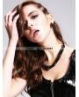 Devil Fashion Black Skull Gothic Necklace