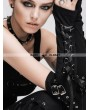 Devil Fashion Black Gothic Punk Long Gloves