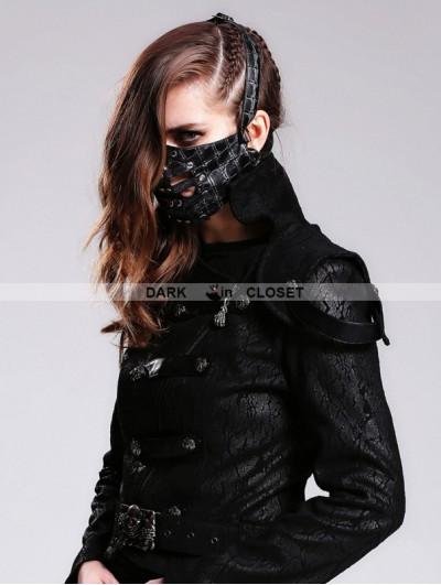 Devil Fashion Gothic Punk Rivet Mask