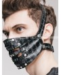 Devil Fashion Gothic Punk Rivet Mask