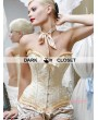 Champagne Victorian Overbust Corset
