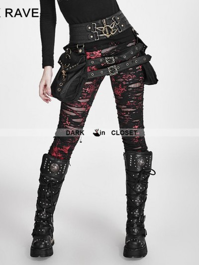 Punk Rave Steampunk Waistband with Bag