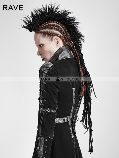 Punk Rave Black Gothic Punk Headwear