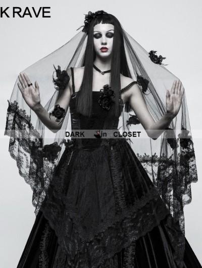 Punk Rave Gothic Gorgeous Veil