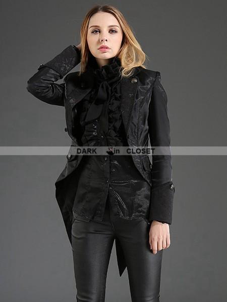 Pentagramme Black Gothic Dovetail Jacket for Women ...   450 x 597 jpeg 42kB