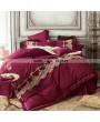 Gothic Vintage Palace Embroidery Comforter Set 0013