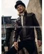 RQ-BL Coffee Industrial Steampunk Jacket for Men