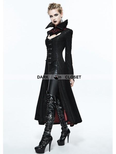 Devil Fashion Black And Red Gothic Dark Vampire Queen