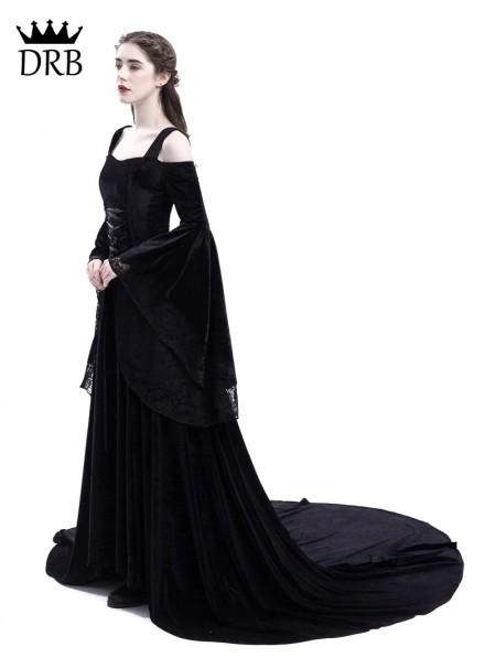 Off the Shoulder Renaissance Dresses