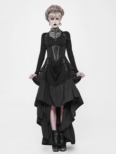 Punk Rave Steampunk Two Wear Long Dress