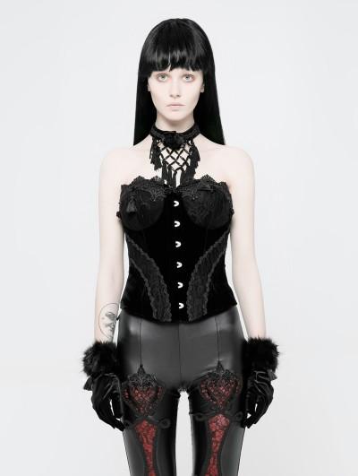 Punk Rave Black Gothic Gorgeous Lace Corset