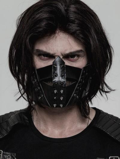 Punk Rave Gothic Punk Masks for Men