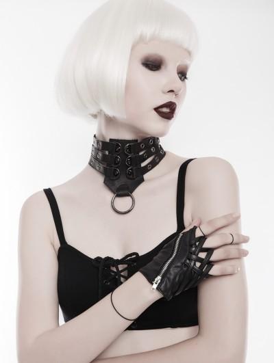 Punk Rave Gothic Punk Collar for Women