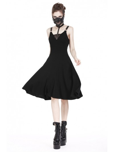 Dark in Love Black Gothic Punk Daily Dress