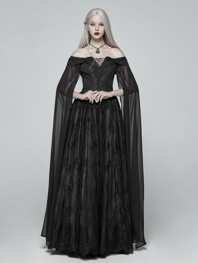 Punk Rave Black Gothic Mediveal Renaissance Fancy Dress