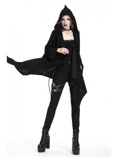 Dark in Love Black Gothic Punk Skull Casual Jacket for Women