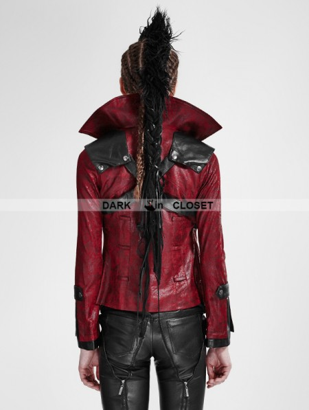 Punk Rave Black and Red Leather Vampire Style Gothic ...   450 x 597 jpeg 41kB