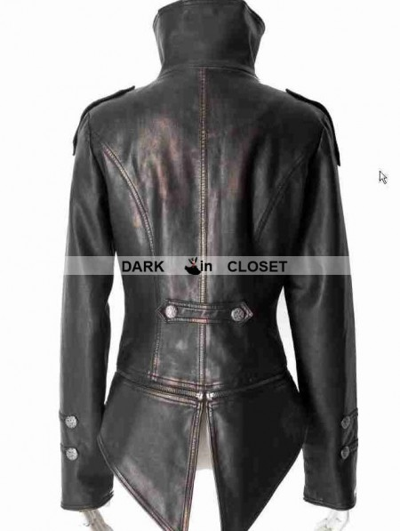 Black Vintage Wool Tuxedo Jacket for Women - Devilnight.co.uk