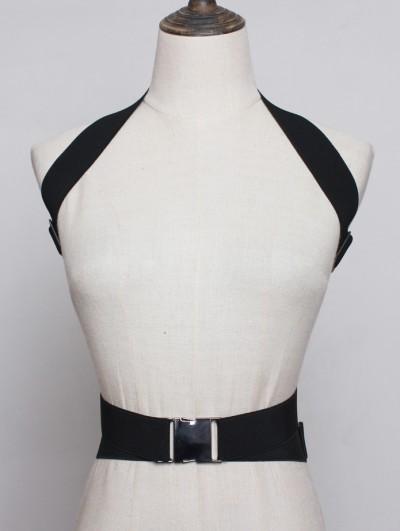 Black Fashion Gothic Punk Belt Harness