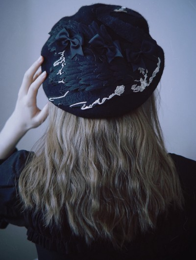 Black Street Fashion Gothic Hat