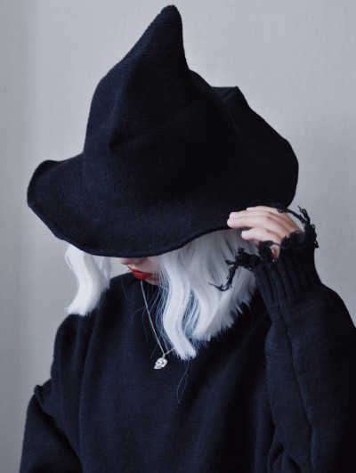 Black Street Fashion Gothic Witch Hat