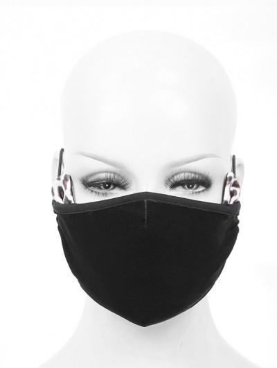 Devil Fashion Black Gothic Cat Ear Mask for Women