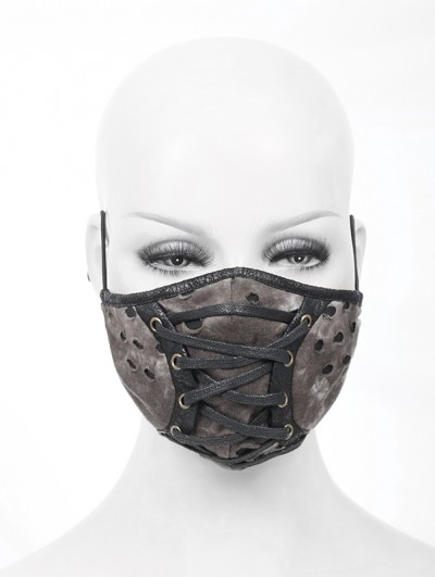 Devil Fashion Brown Gothic Steampunk Unisex Mask