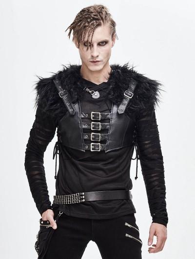 Devil Fashion Black Gothic Punk Chain Belt