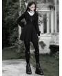 Punk Rave Black Street Fashion Gothic Grunge Long Sleeve Short Casual Dress