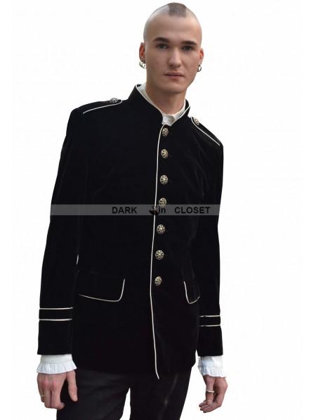 Pentagramme Black Military Style Gothic Jacket for Men ...   450 x 597 jpeg 26kB