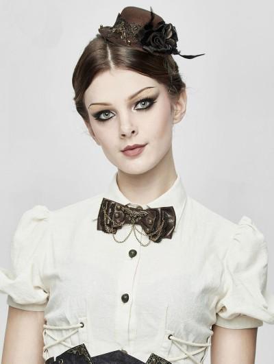 Devil Fashion Steampunk Bowtie