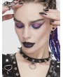 Devil Fashion Black Gothic Punk Rivet Choker