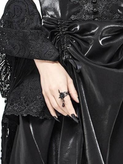 Devil Fashion Dark Queen Gothic Red Pendant Ring