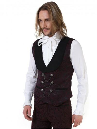 Pentagramme Retro Gothic Aristocratic Waistcoat for Men