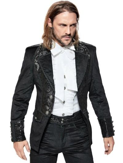 Pentagramme Black Retro Gothic Velvet Short Jacket for Women