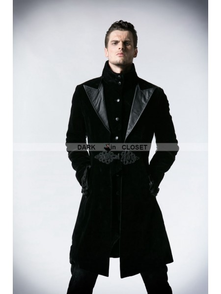 Punk Rave Black Velvet Gothic Jacket for Men ... | 450 x 597 jpeg 29kB