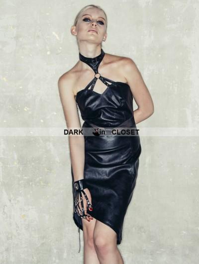 Devil Fashion Black Sexy Gothic Punk Skeleton Dress