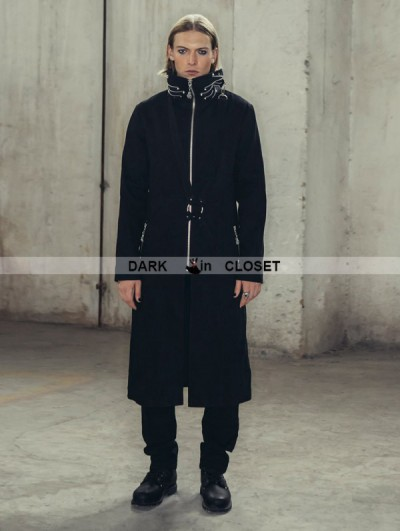 Devil Fashion Black Gothic Punk Jacket for Men