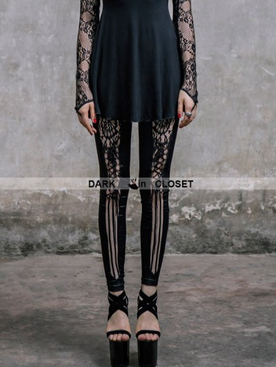 Devil Fashion Fashion Gothic Punk Legging for Women